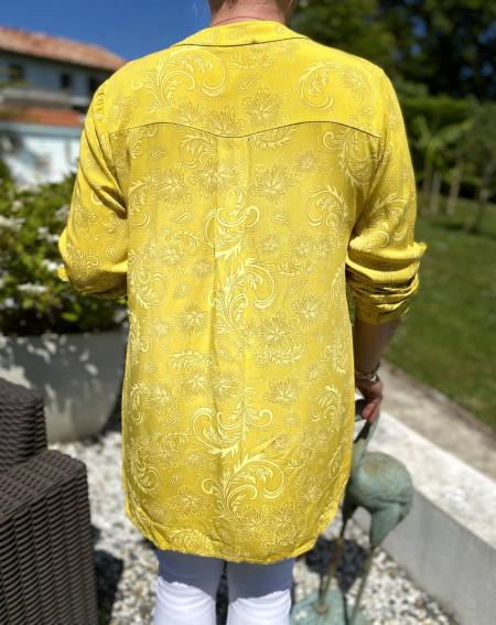 Tunique motifs arabesque