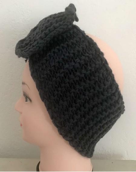 Headband cheveux tendance coloris gris