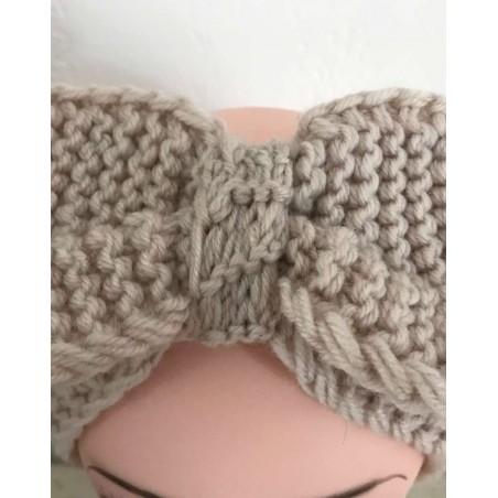 headband cheveux tendance coloris beige