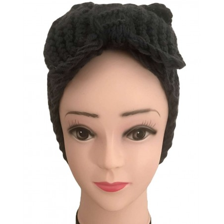 Bandeau cheveux tendance coloris gris anthracite