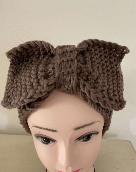 Headband pour cheveux tendance coloris marron
